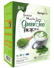 Healthy slimming Instant Matcha Green Tea Latte