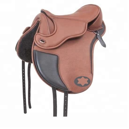 6062 English Endurance Genuine Horse Riding Leather Saddle