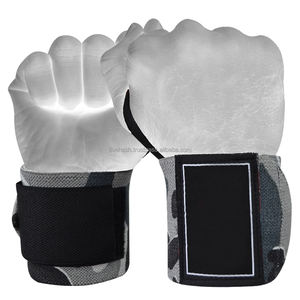 Comfortable Factory Made Full Palm Protection Weight Lifting Wrist Wraps