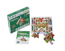 Wooden Building Blocks Animals Toys EN71, CE