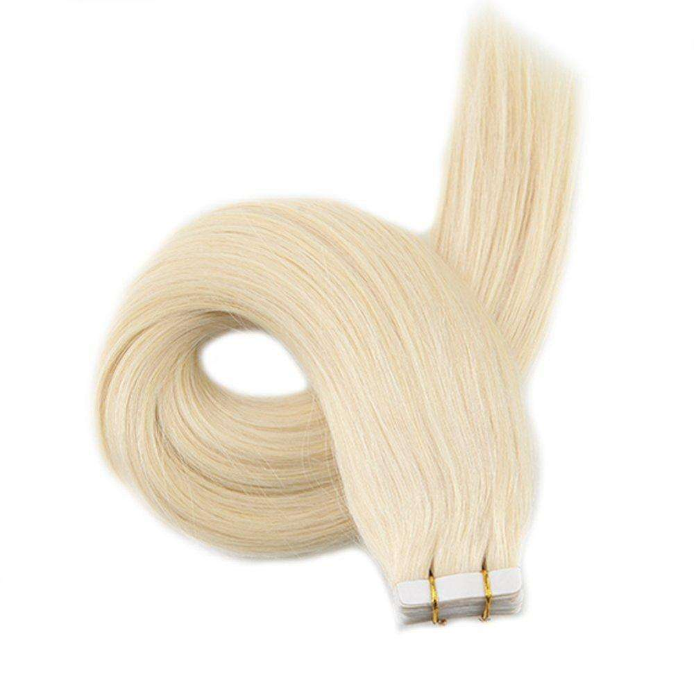 High Quality Blonde Russian Tape Human Hair,Cheap Remy Tape Hair Extension