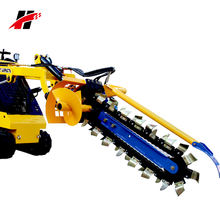 mini skid steer loader Toro Dingo Kanga ISO standard attachment landscape garden earth chain trencher
