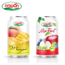 330ml NAWON Canned healthy drinks Original Mango Juice Maker Improves Digestion Manufacturer