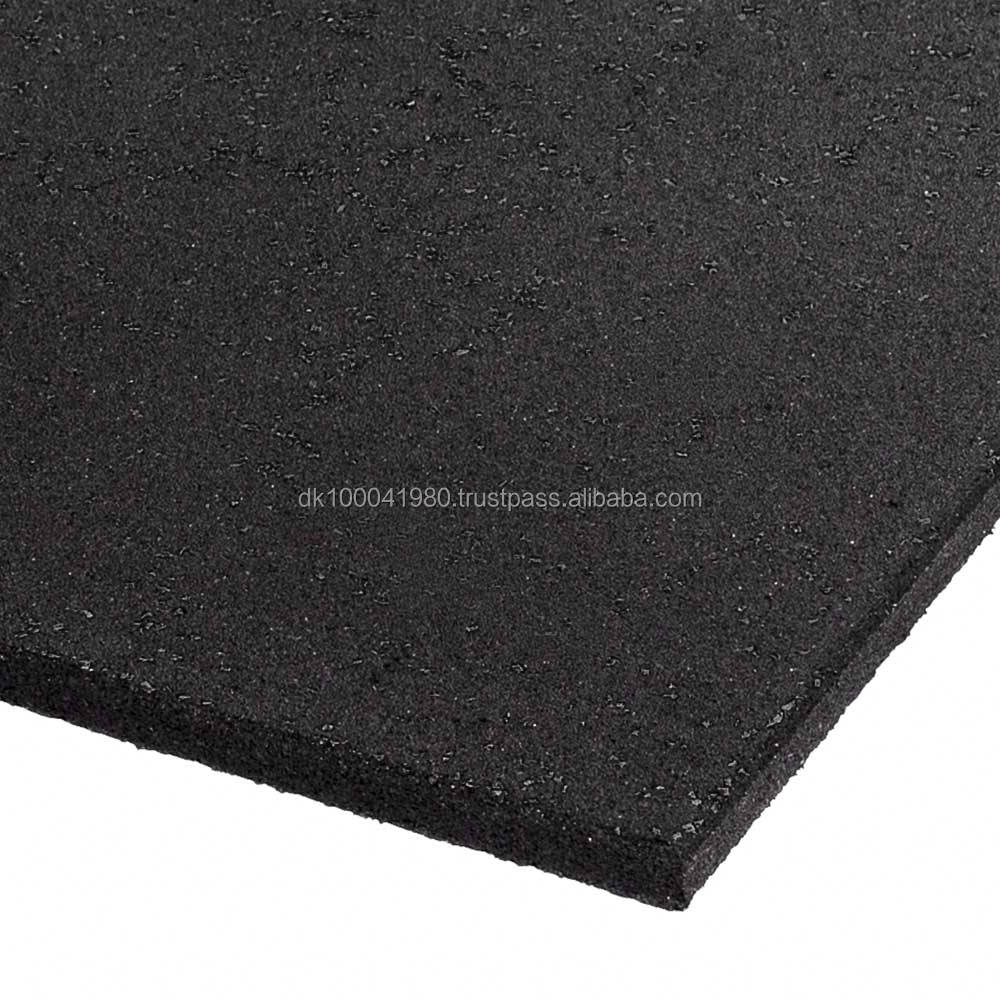 European standard quality commercial rubber floorings