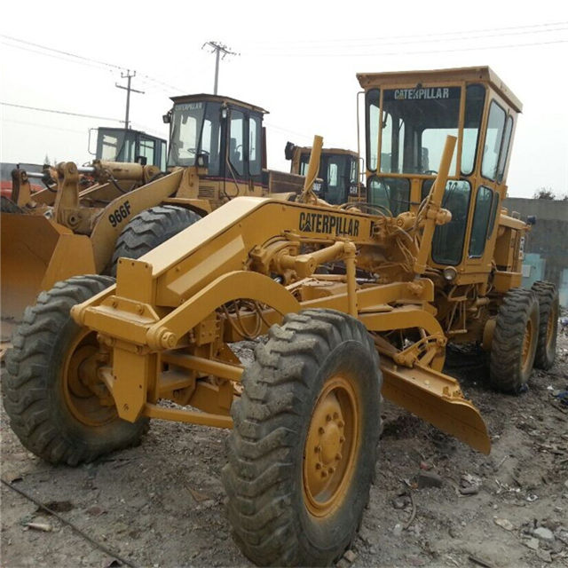 cheap motor grader 12 cater USED heavy equipment CAT 12G grader caterpillar