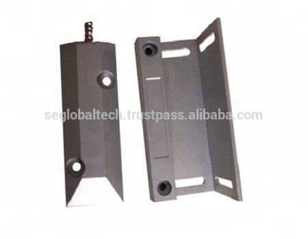 Stainless Steel Wired Security Rolling Door Magnetic Switch Contact Alarm for Roller Shutter Gate