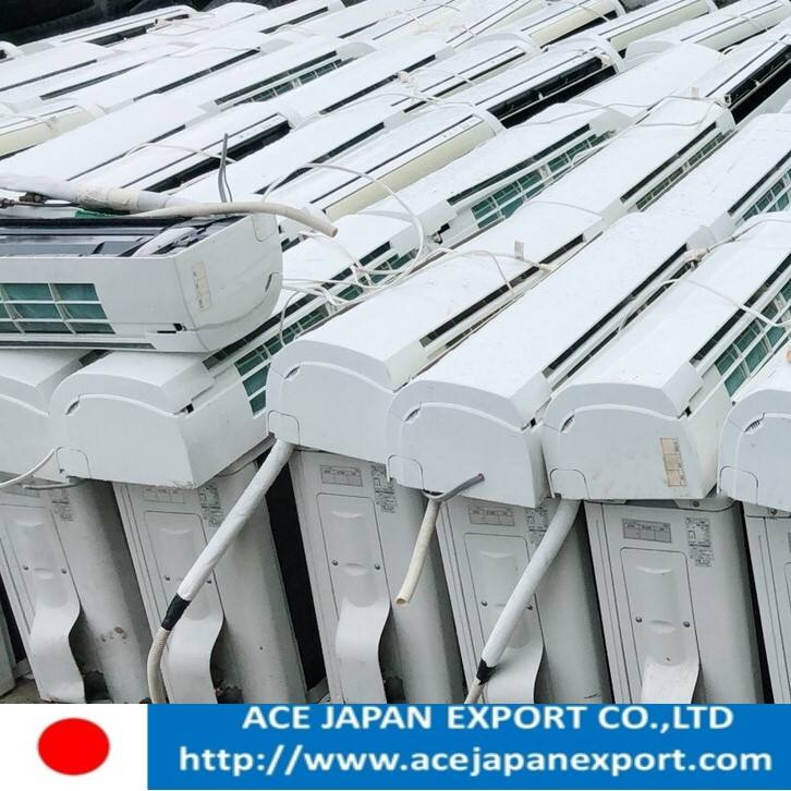 secondhand split air conditioner from Japan