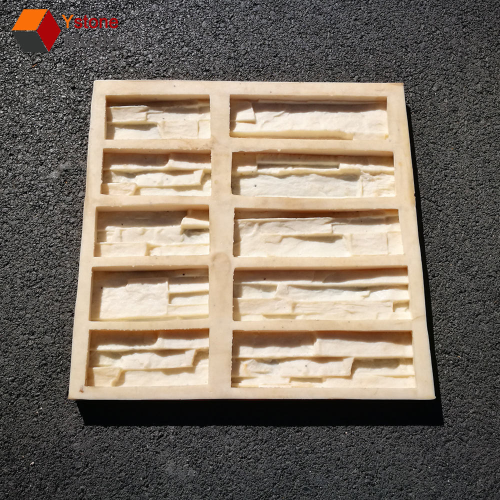 Decoratieve muur steen baksteen silicone mould