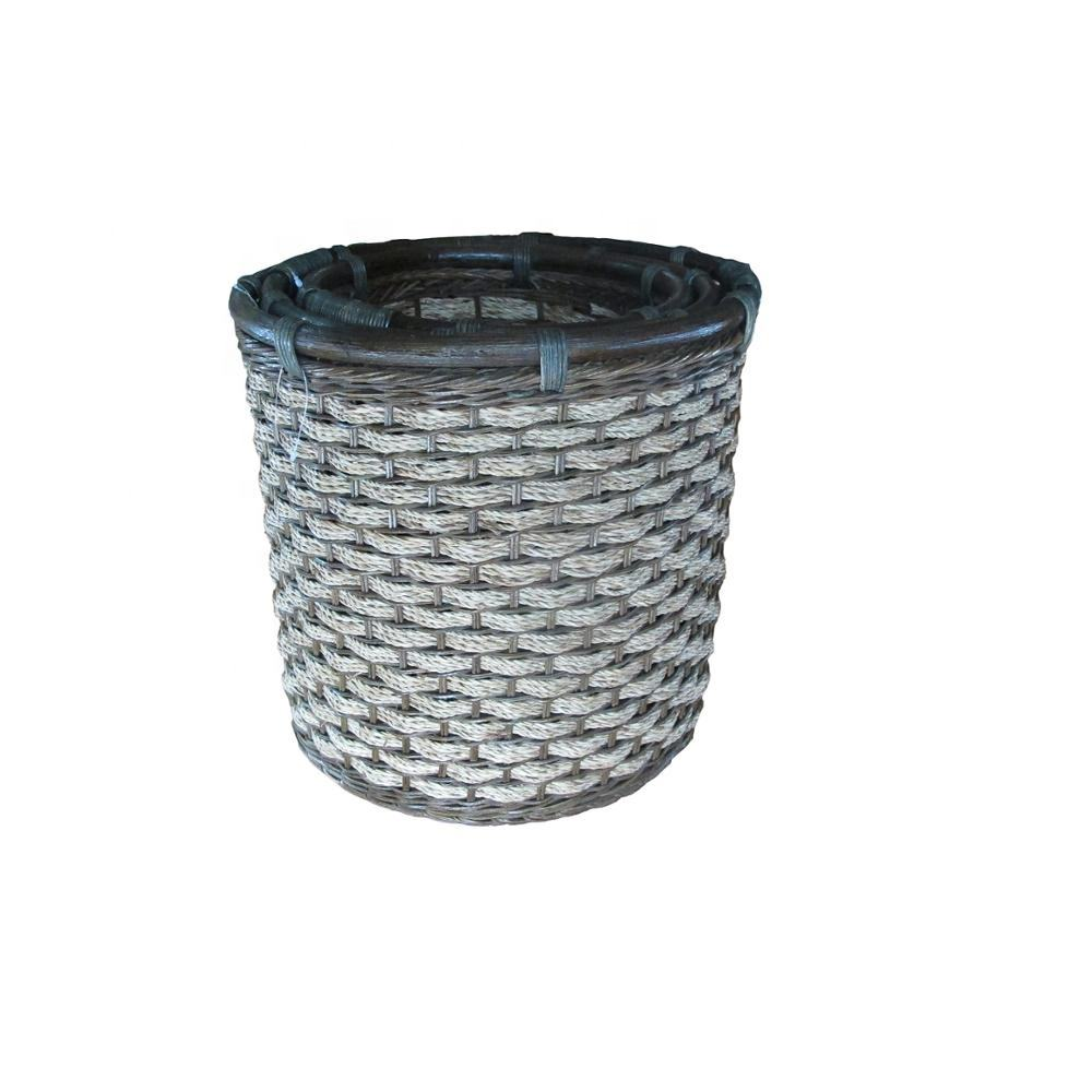 High quality best selling eco-friendly fashion well- known rattan basket