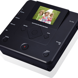 VHS Video AV IN to DVD portable recorder player for vhs vcr
