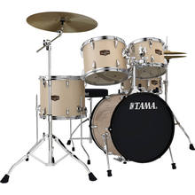 "TAMA IP58NCCHM Imperialstar 5-Piece Drum Set with Cymbals (18"" Bass Drum, Champagne Mist)"