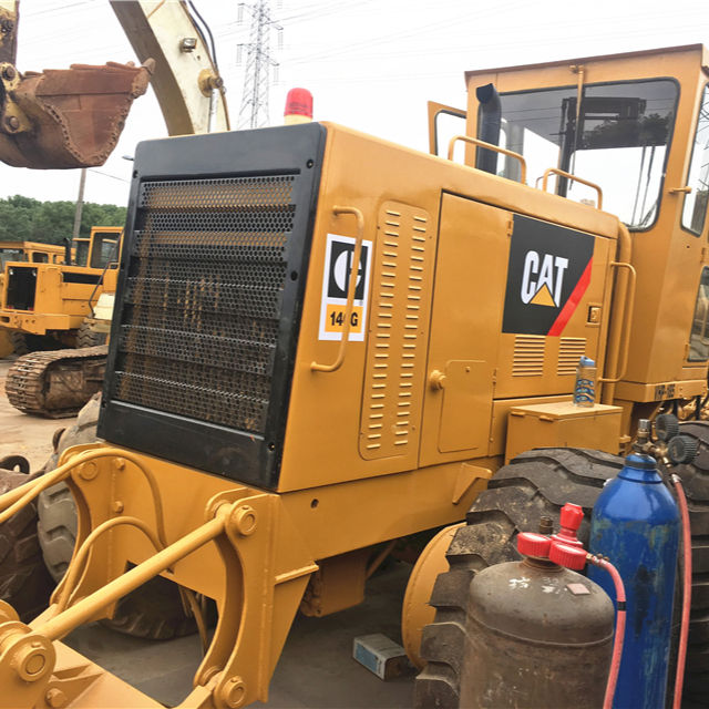 Used cat 140G motor grader made in Japan Cheap cat Second Hand 140 Grader From China