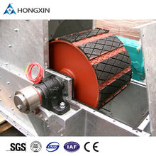high temperature resistant conveyor system pulley lagging drum lagging diamond rubber sheet pulley and roller lagging