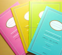 Various types of and Multi-functional note book made in Japan