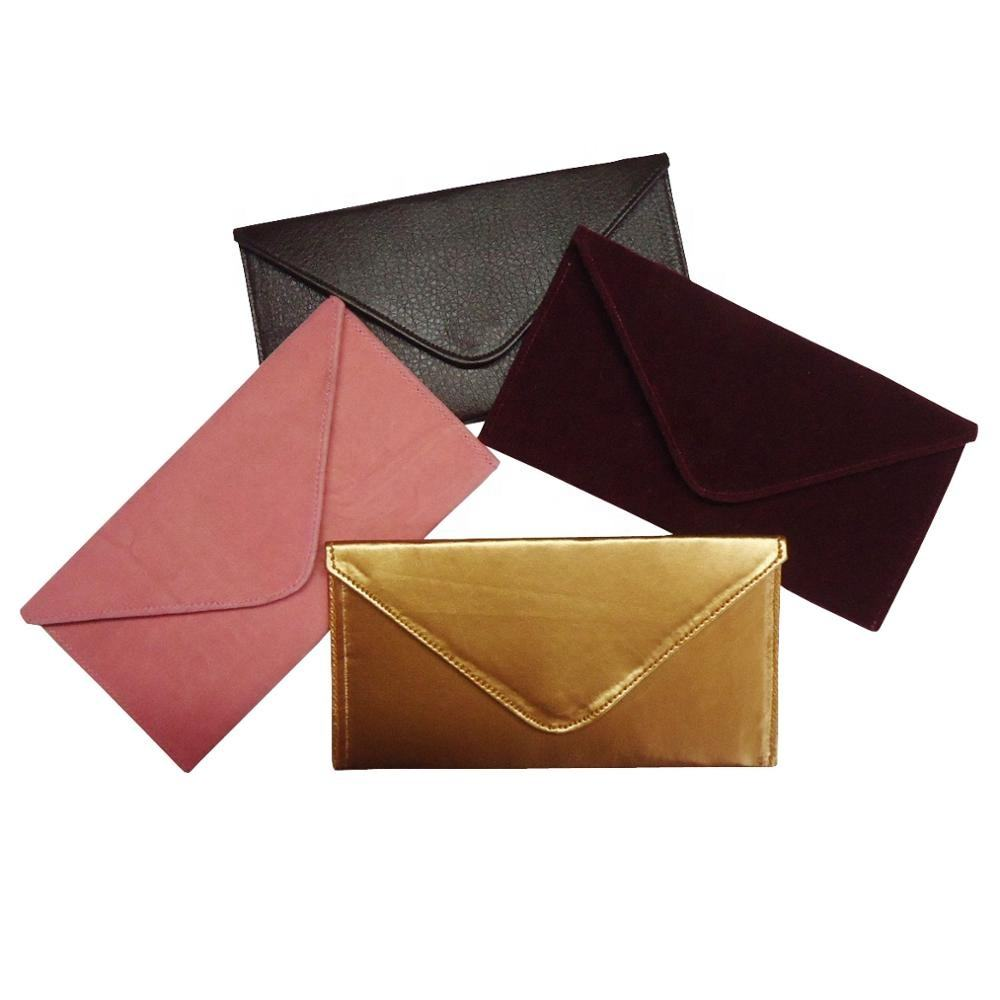 Exclusive New Style 2019 Magnetic Closure Velvet Fabric Gift Envelope