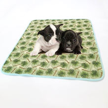 Non Slip Waterproof Washable Dog / Puppy Traveling Pee Mat Pet Training Pads