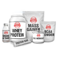Custom Size Private Label Whey Protein Powder