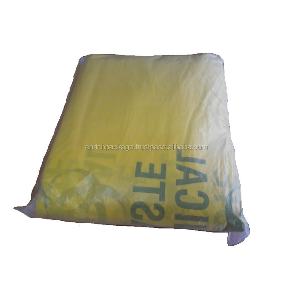 High Quality Clinical Waste degradable disposable medical garbage bag