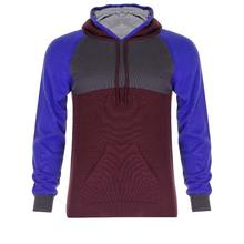 Multi colored Technical Knit Cotton Hoodie