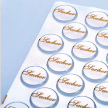 Chocolate Transfer Sheet (Round 3cm - 88 logos per sheet)