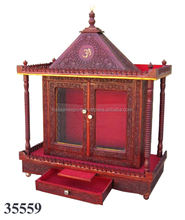 Decoration Wooden Temple for Home