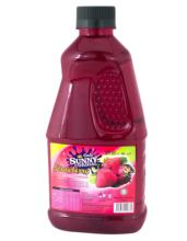 Ooh Sunny Cordial Concentrate Real Strawberry Fruit Juice
