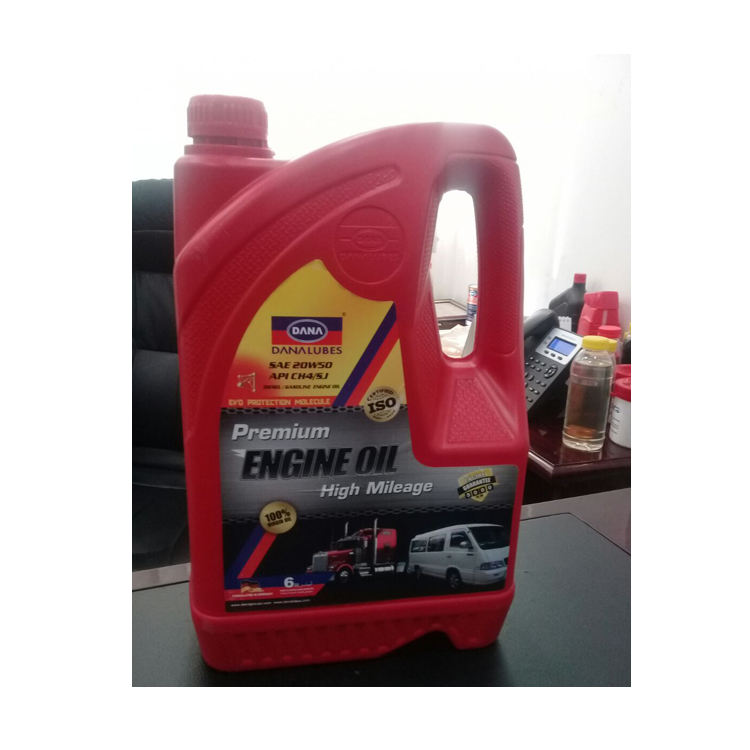 Premium Diesel Engine Oil SAE 20W50 UAE Dubai Gulf Middle East Supplier Automotive Lubricants , Export to Africa Durban Cameroon