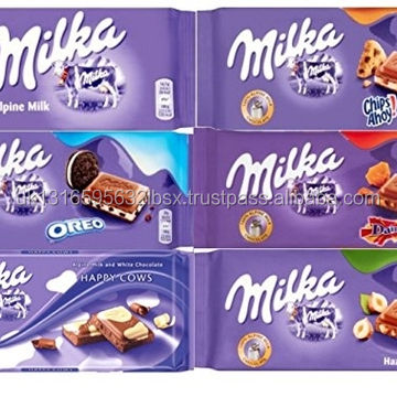 MILKA CHOCOLATE aromas disponibles