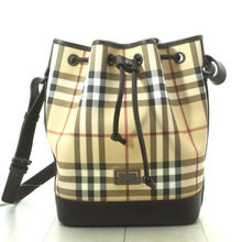 Pre owned High Quality High BRAND BERBERRY Check Tote Bags For wholesale from Japan