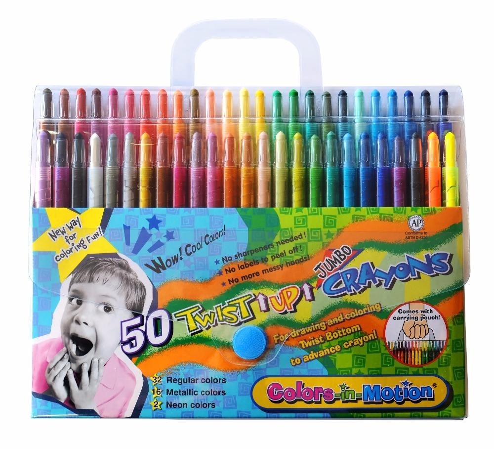 Co. Twistables Pororo Mini 12 colors Crayons Globe Chemical Ind