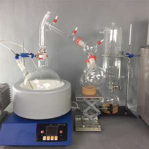 5L SPD Glass Cannibis Oil Extraction Machine Unit Short Path Distillation System for CBD Distillate