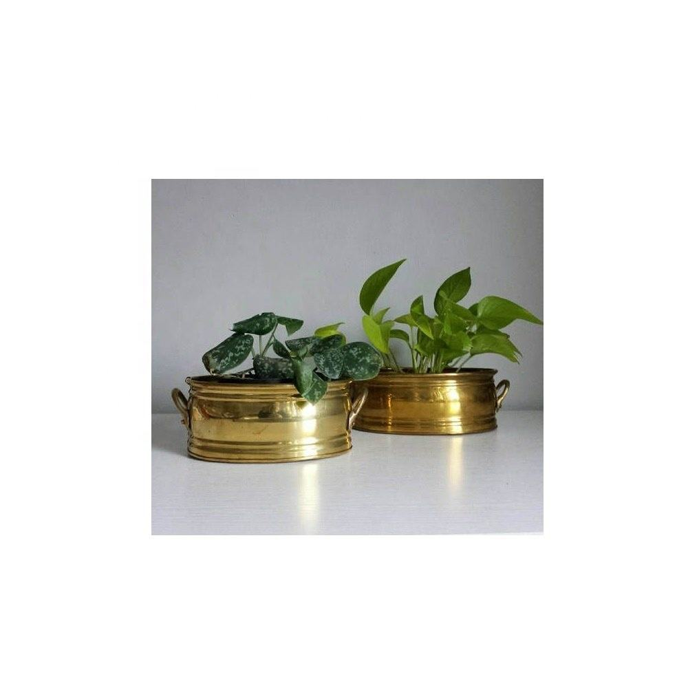 Goud Planter Messing Container Messing Pot