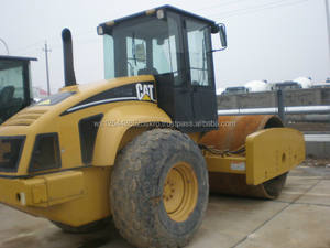 used caterpillar 683E wheel road roller for sale