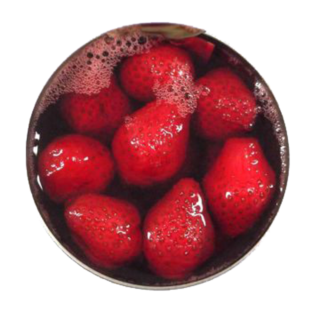 Canned Strawberry Fruits in light syrup / Strawberry fruit for sales