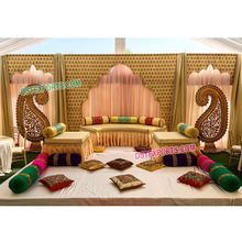 Indian Wedding Stage Backdrop Decoration, Wedding Stage Backdrop Curtains, Wedding Event Backdrop Curtains