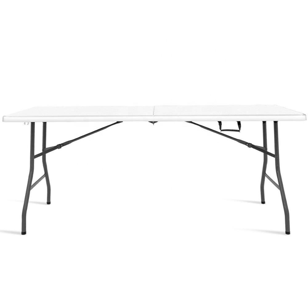 Goplus 6' Folding Table Indoor Outdoor Dining Camp Table