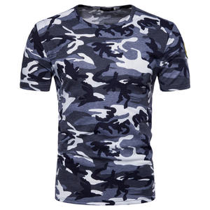 2019 Men Camouflage T Shirt Fitness Tights Quick Dry Camo Tshirt Crossfit Compression T-Shirt Brand Clothing Tops