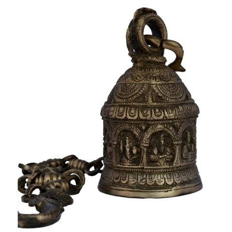 Messing metalen gemaakt temple Bell