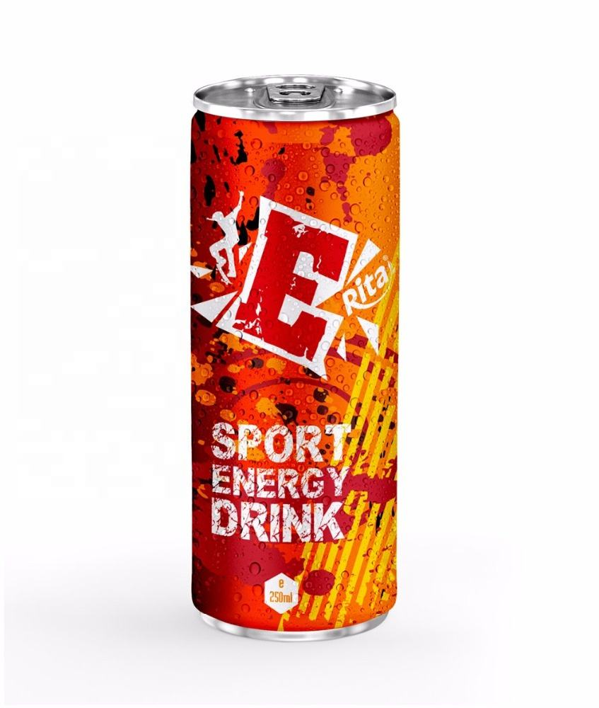 OEM EU Taste 250ml Power Energy Drinks
