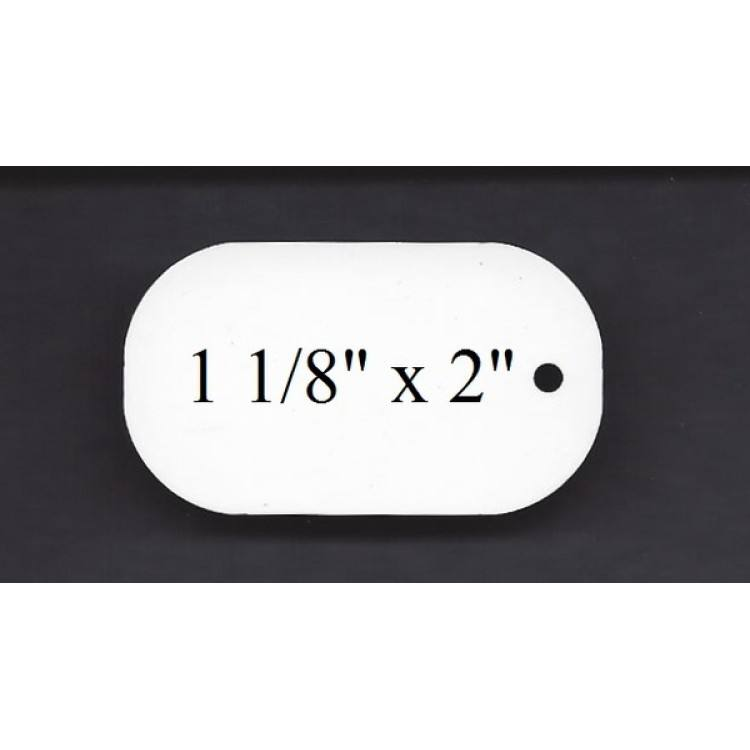 """120 Pieces ALUMINUM LICENSE PLATE SUBLIMATION BLANKS 4/"""" x 7/"""" MOTORCYCLE TAG"""