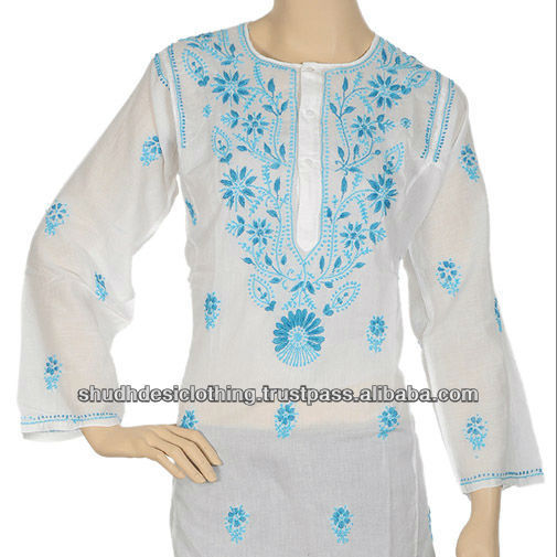Chicken Tunic Kurtis are available in different shades and colors