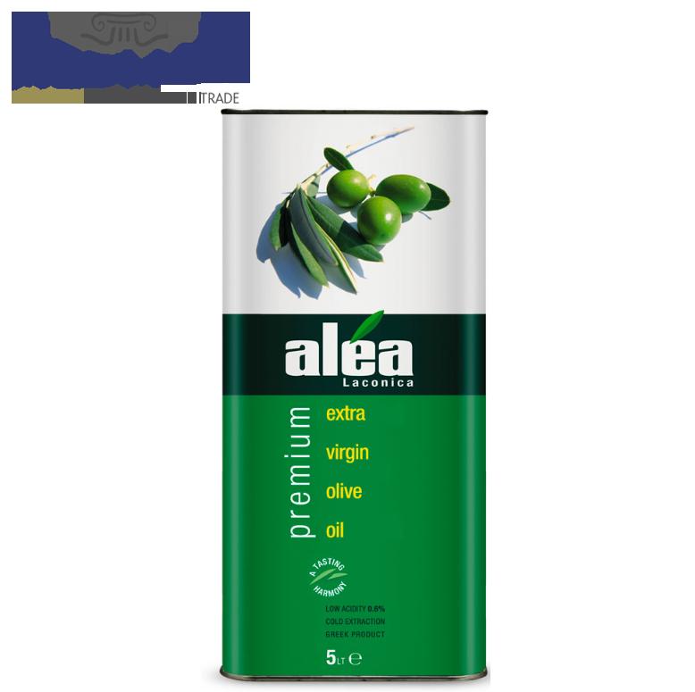 Alea Premium - Extra Virgin Olive Oil from Greece - 3L / 5L Metal Tin