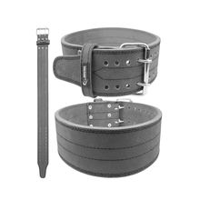Poweriva Leather Powerlifting Single Prong 10mm Power Belt