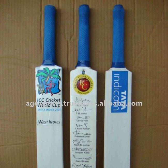 "ND Signature Bat Mini Cricket Bat Miniature Autograph Bat 15/"" Length Pack 1 3 5"