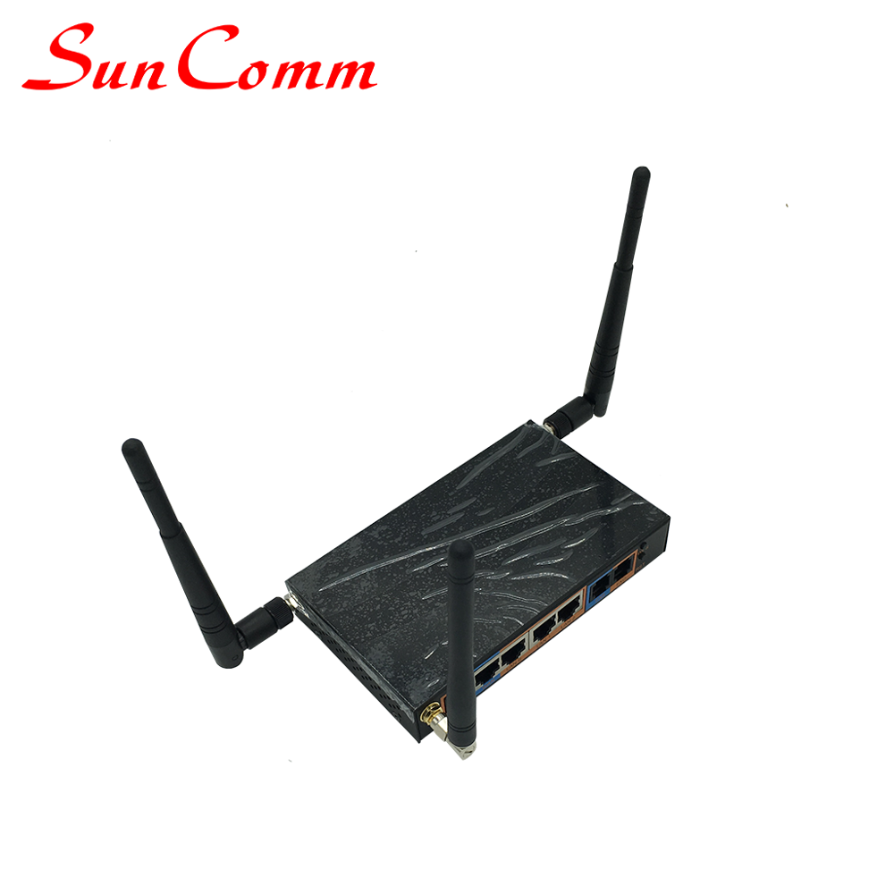 GSM VoIP Gateway SC-111-WAG ATA With1SIM 1FXS 1FXO Port Wifi AP 2.4GHz