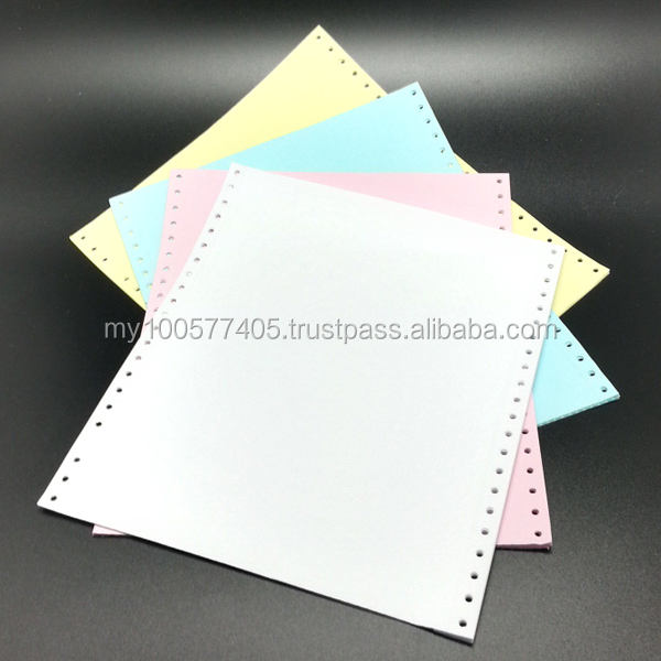 9.5 * 11 inch 4 ply computer forms carbonless ncr paper