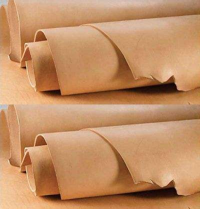 Cow Genuine tanned Vegetable Leather Hides