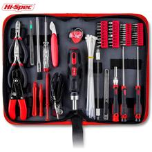 Hispec 73 Piece Electrical Maintenance Tool Kit Computer Repairing tool set with Precision hand tools for IT, Smartphone Repair