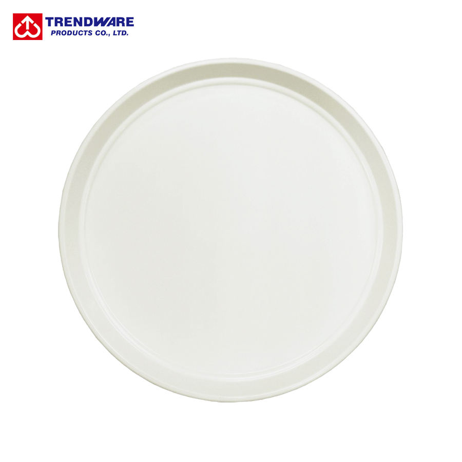 Round ABS Plastic Bread & Dessert Bakery Serving Tray
