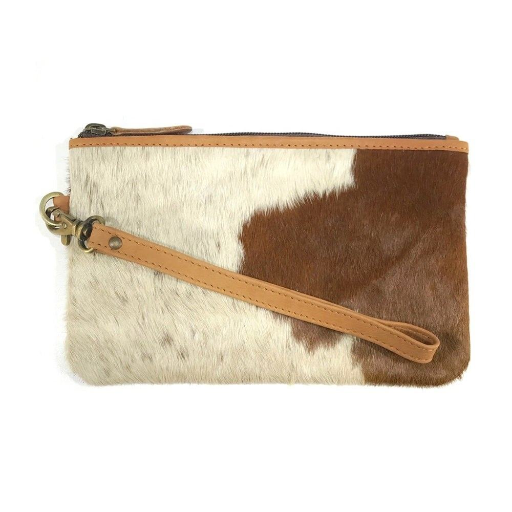 High Capacity Fashion Cowhide Fur Leather Women Long Wallets Elegant Genuine Purses For Girls